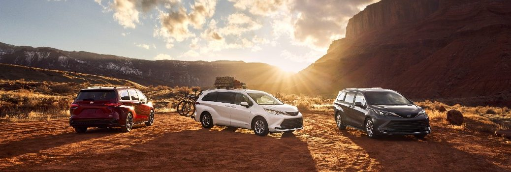 2021 Toyota Sienna Family Exterior Profiles & Angles