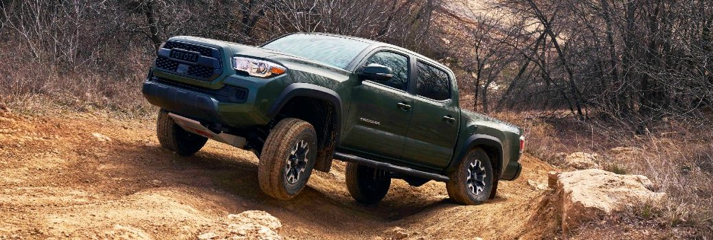 2021 Toyota Tacoma TRD Lift Kit Exterior Driver Side Front Profile