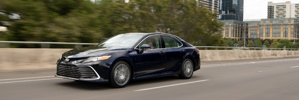 2021 Toyota Camry XLE Blueprint Exterior Driver Side Front Profile