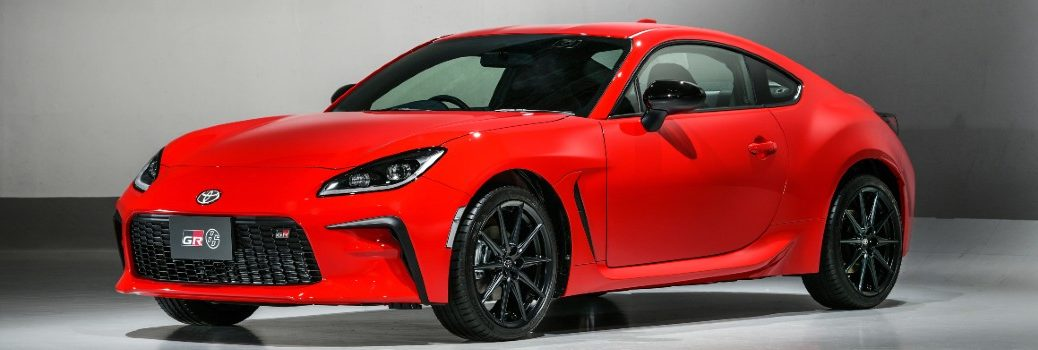 2022 Toyota GR 86 Exterior Driver Side Front Profile