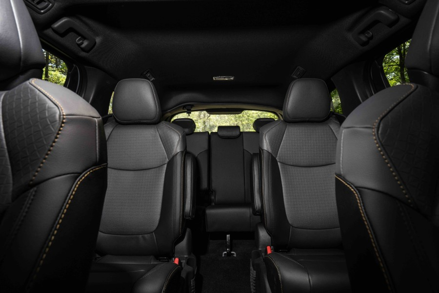 2022 Toyota Sienna Woodland Special Edition Interior Cabin Seating