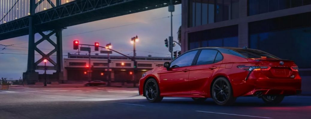 What are the Engine Specifications of the 2021 Toyota Camry?