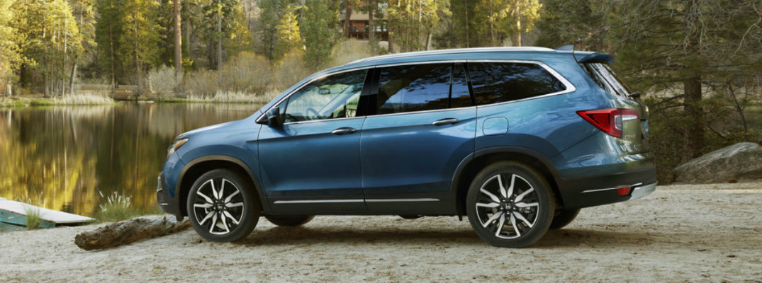 2019 Honda Pilot: How to Use Navigation System Voice Recognition Video