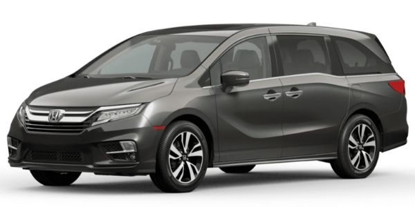 2020 Odyssey pacific pewter