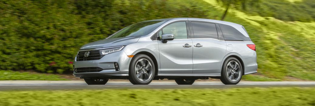 2021 Honda Odyssey Exterior Driver Side Front Profile