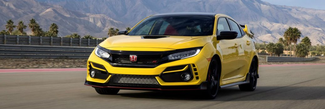 2021 Honda Civic Type R Limited Edition Exterior Driver Side Front Angle
