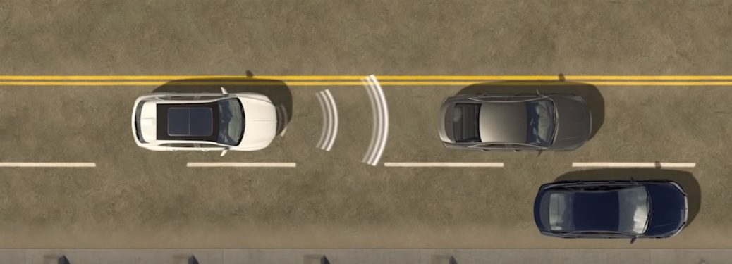 Demonstration of Lincoln Pre-Collision Assist with Automatic Emergency Braking