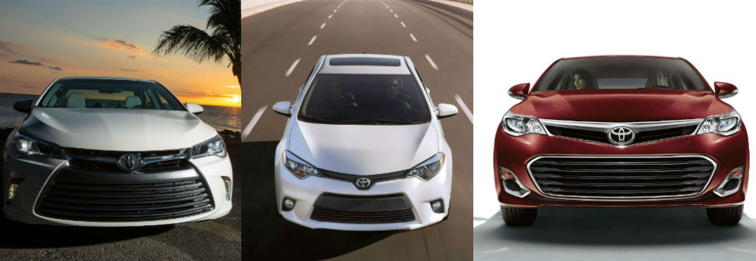 Which Toyota Sedan Fits You Best?