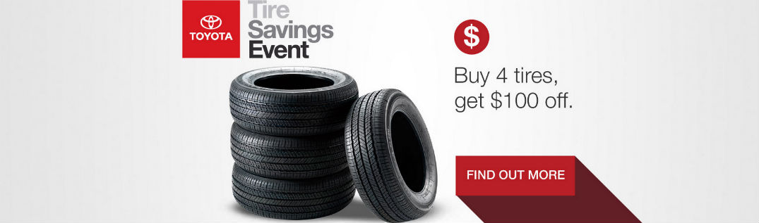 Toyota Tire Savings Event and Service Specials Berlin VT at White River Toyota-Concord NH-Randolph VT-Hanover NH-Keene NH-sales and incentives