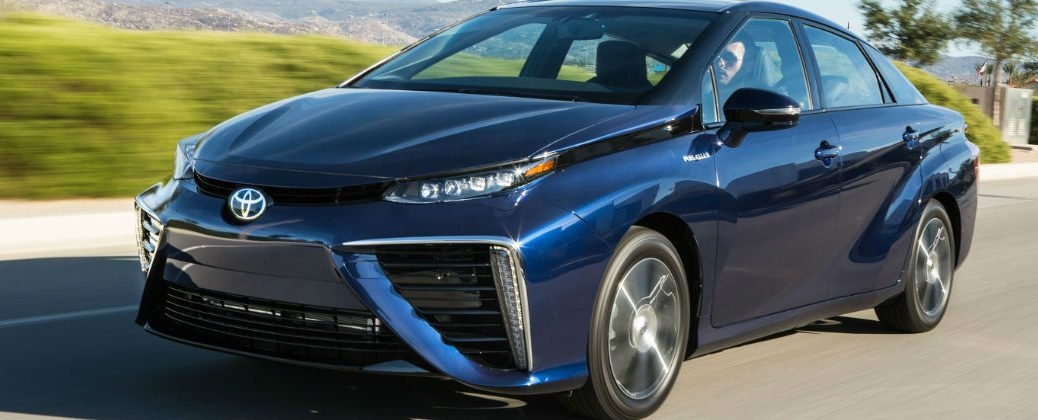 New 2016 Toyota Mirai Driving Range and Fuel Economy Ratings at White River Toyota-White River Junction VT-Berlin VT-Randolph VT-Hanover NH-New Toyota Dealer-2016 Toyota Mirai Front End