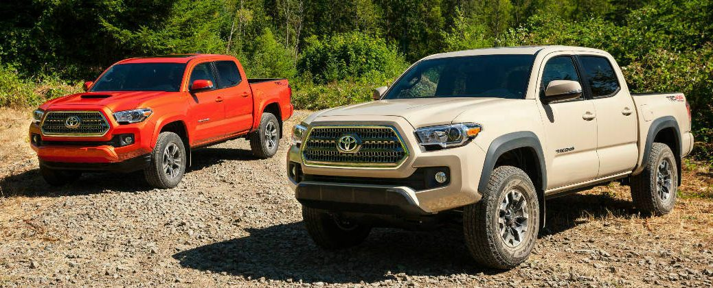 New 2016 Toyota Tacoma Is More Ful And Efficient At White River