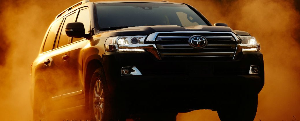 5 Things You Need to Know About the 2016 Toyota Land Cruiser at White River Toyota-White River Junction VT-Berlin VT-Randolph VT-New Toyota Dealer-2016 Toyota Land Cruiser Front End