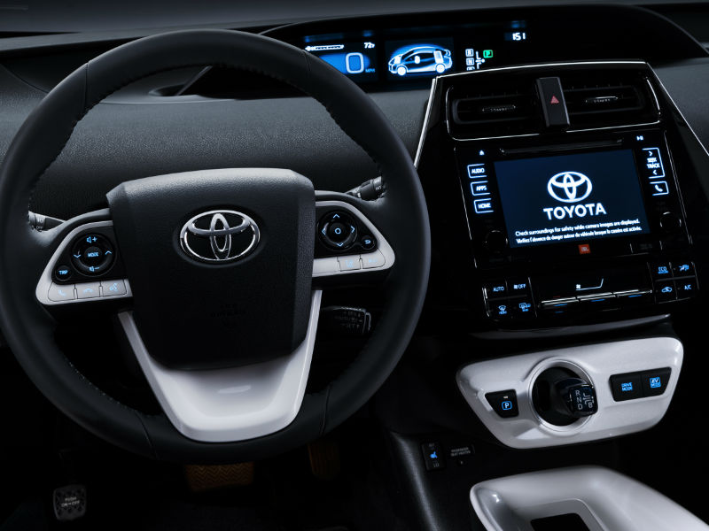 2016 Toyota Prius Interior At White River Junction Vt
