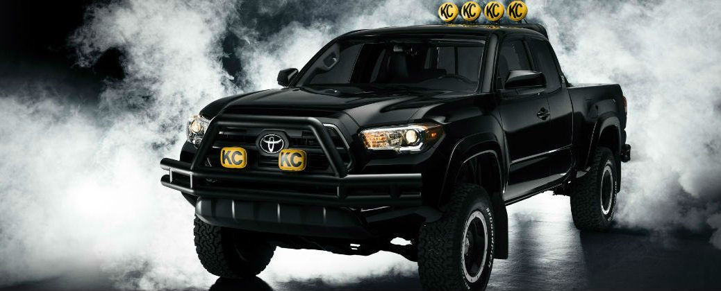 Back To The Future Toyota Tacoma Features At White River Junction Vt