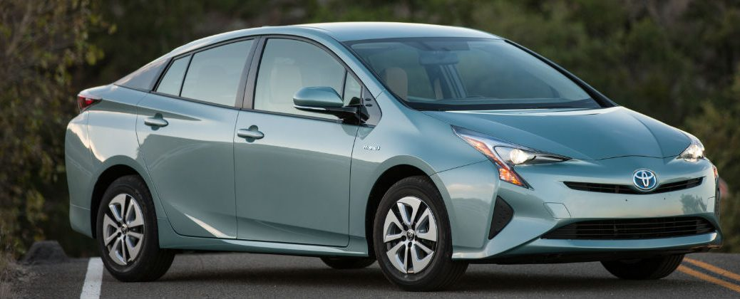 2016 Toyota Prius Price Trim Levels and Fuel Economy at White River Toyota-White River Junction VT-Blue 2016 Toyota Prius Three Exterior