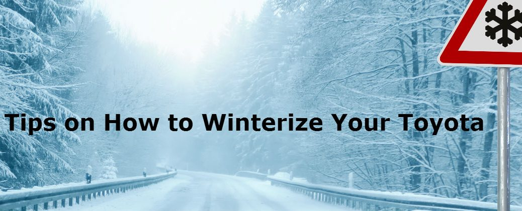 Tips to Winterize Your Toyota at White River Toyota-White River Junction VT-Driving On a Snowy road