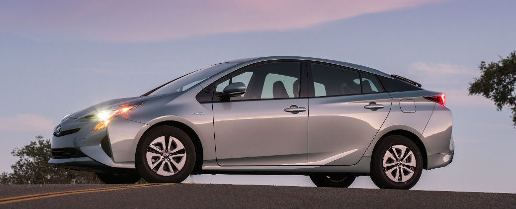 Toyota Prius Regenerative Braking System at White River Toyota-White River Junction VT-Silver 2016 Toyota Prius Exterior