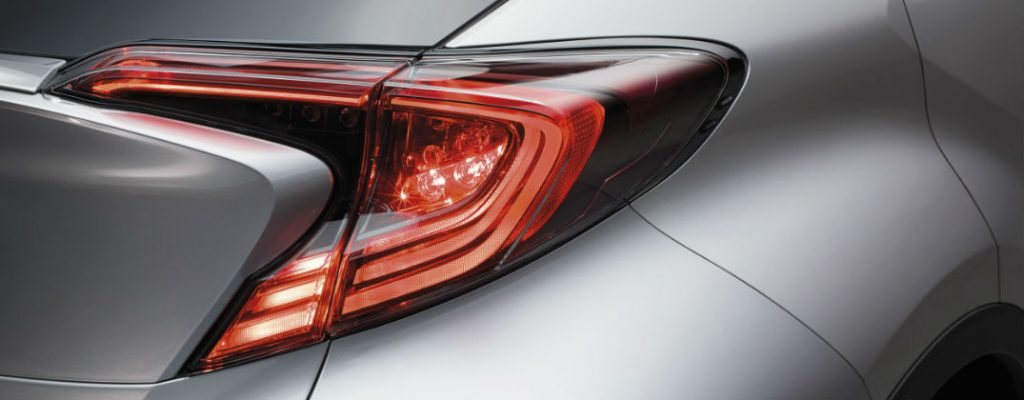 Projected Toyota C-HR U.S. Release Date and Design at White River Toyota-White River Junction CT-Rear Toyota C-HR LED Taillights