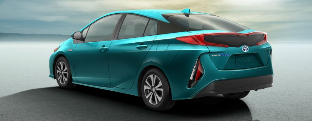 2017 Toyota Prius Prime Plug-In Hybrid Release Date at White River Toyota-White River Junction VT-2017 Toyota Prius Prime Rear Exterior LED Taillights
