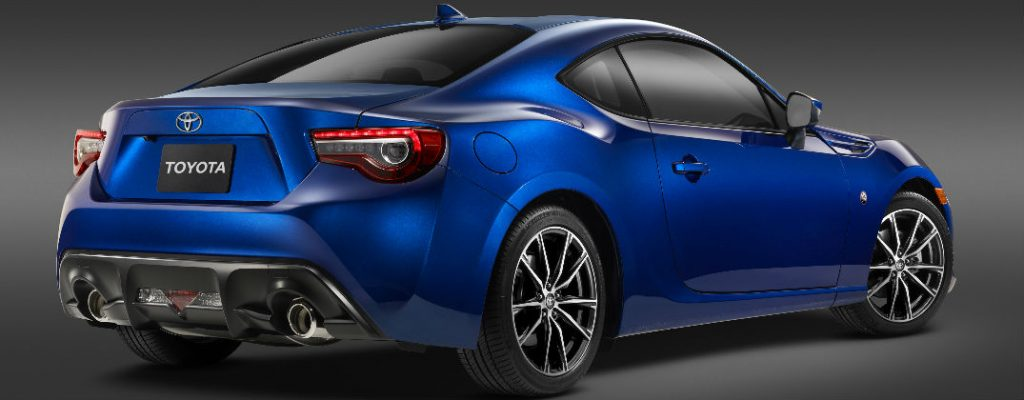 2017 Toyota 86 Debut and Release Date at White River Toyota-White River Junction VT-Blue 2017 Toyota 86 Rear Exterior