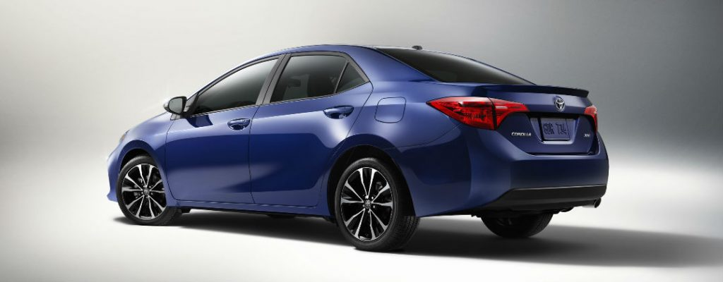 New 2017 Toyota Corolla Release Date and Specs at White River Toyota-White River Junction VT-2017 Toyota Corolla XSE Rear Exterior Design