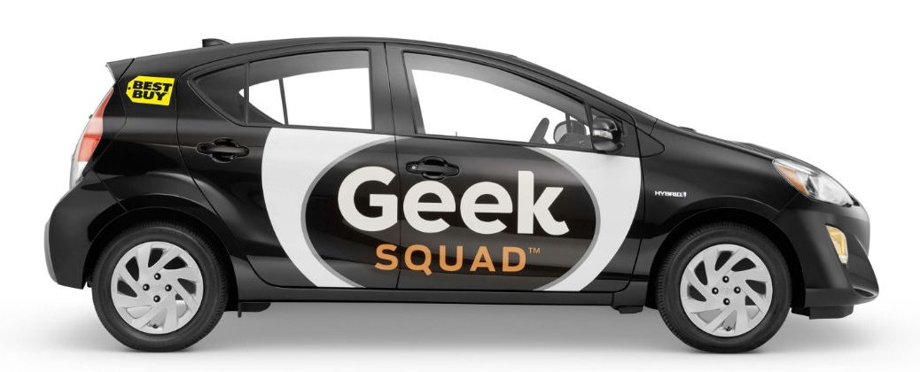 Best Buy Geek Squad Adopts the 2016 Toyota Prius c at White River Toyota-Lebanon NH