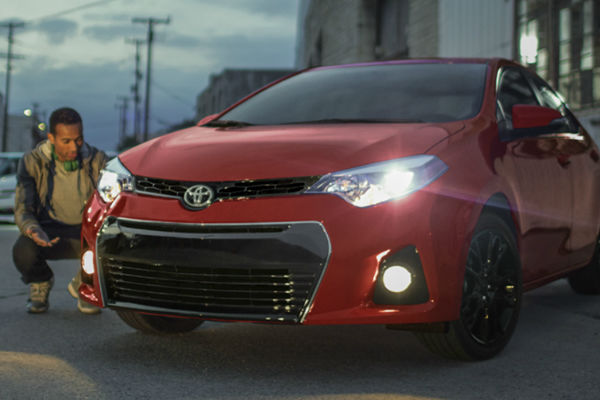 Red 2016 Toyota Corolla Special Edition Trim Front Exterior