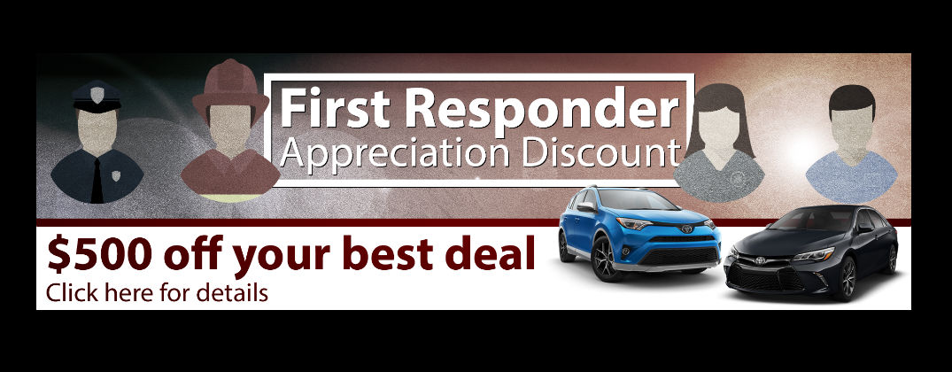 White River Toyota Offers $500 First Responder Discount in White River Junction VT