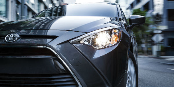 Gray 2017 Toyota Yaris iA Front Grille