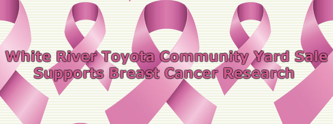 White River Toyota Supports Breast Cancer Awareness with Community Yard Sale