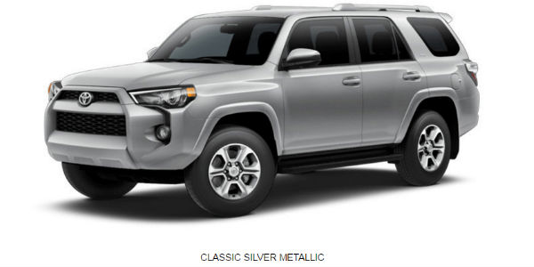 Tailor The 2017 Toyota 4runner To Your Personal Style With 8 Exterior Colors