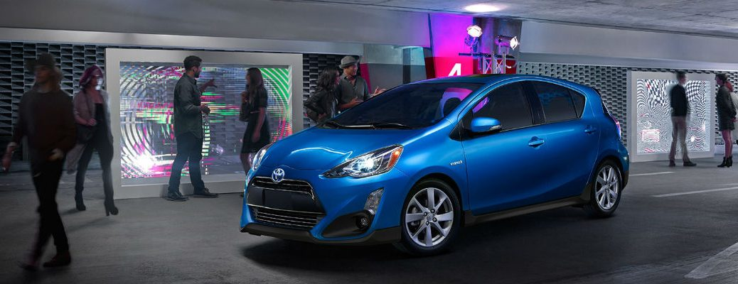 See the Safety features in the 2017 Toyota Prius C