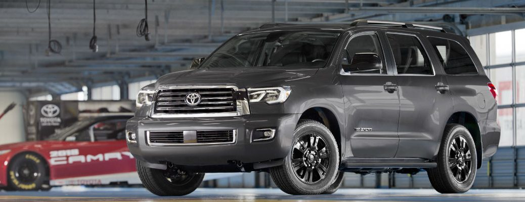 What does the TRD Sport trim add to the Toyota Tundra and Sequoia