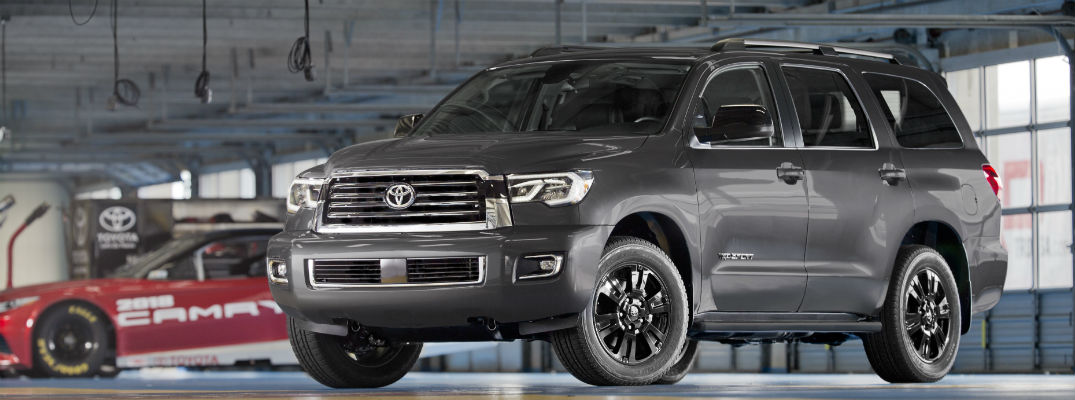What does the TRD Sport trim add to the Toyota Tundra and Sequoia?