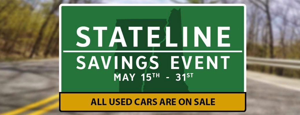 May Used Car Sale in White River Junction