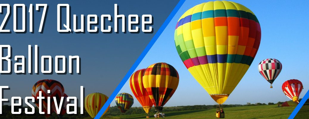 Schedule for the 2017 Quechee Balloon Fest in White River Junction
