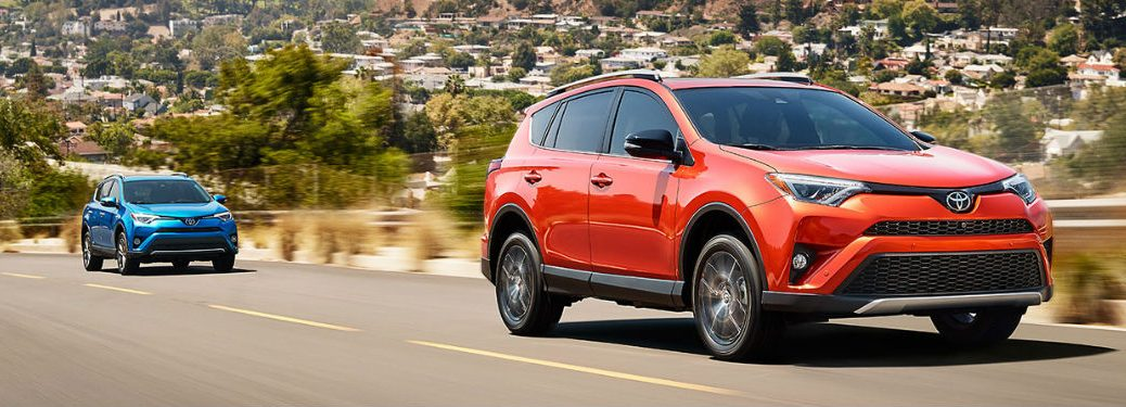 What Trim Levels Are Available For The 2017 Toyota Rav4 Hybrid