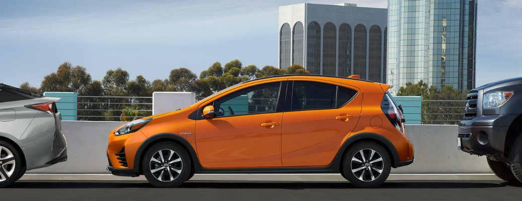 What Colors Are Available For The 2018 Toyota Prius C