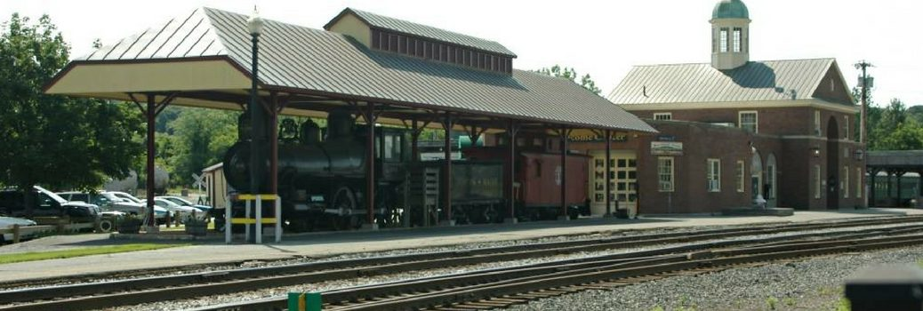 Train station at White River Junction, VT
