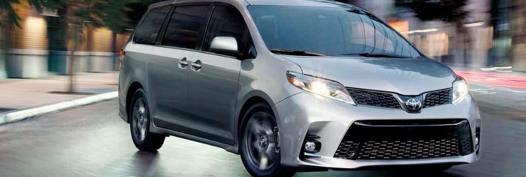 2019 Toyota Sienna parked outside