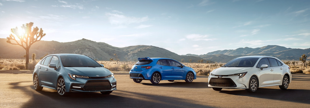 What Trim Options are on the 2020 Toyota Corolla?