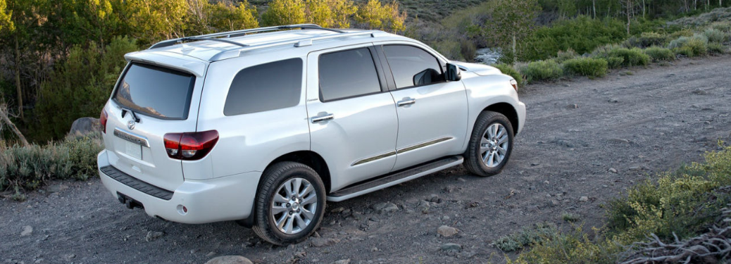 2019 Toyota Sequoia driving on the road