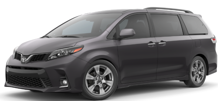 What Color Is Sienna >> Exterior Paint Options Of The 2020 Toyota Sienna