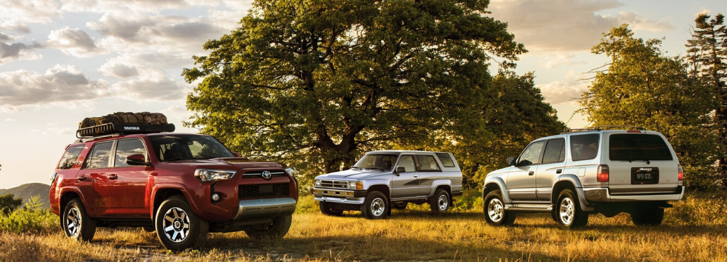 2020 Toyota 4Runner parked outside together
