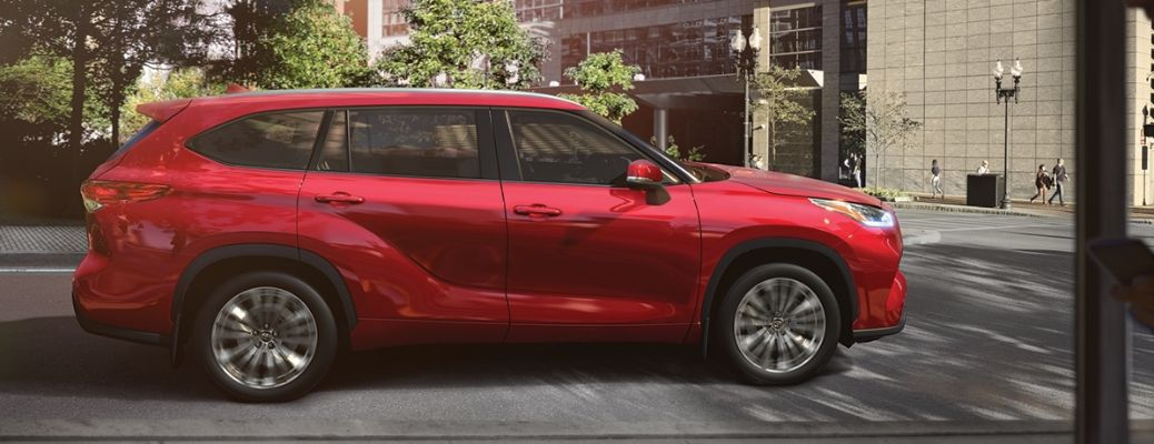 What Paint Options are on the 2020 Toyota Highlander?