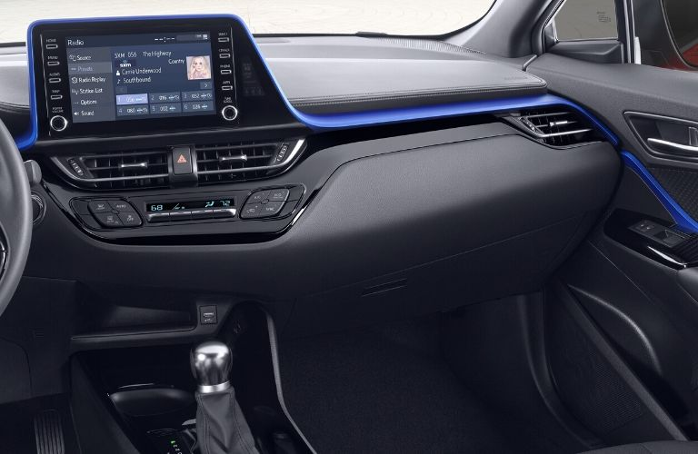 2020 Toyota C-HR interior dash view