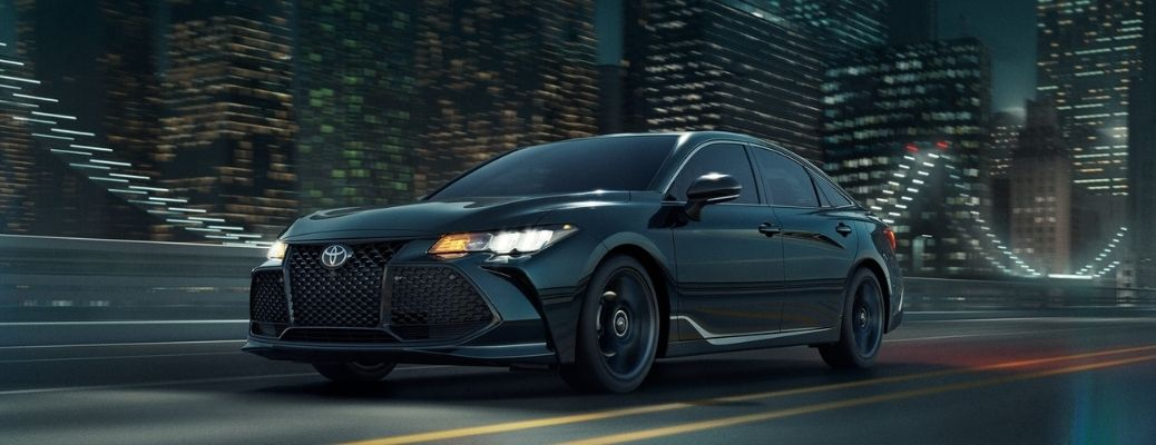 2021 Toyota Avalon driving front view