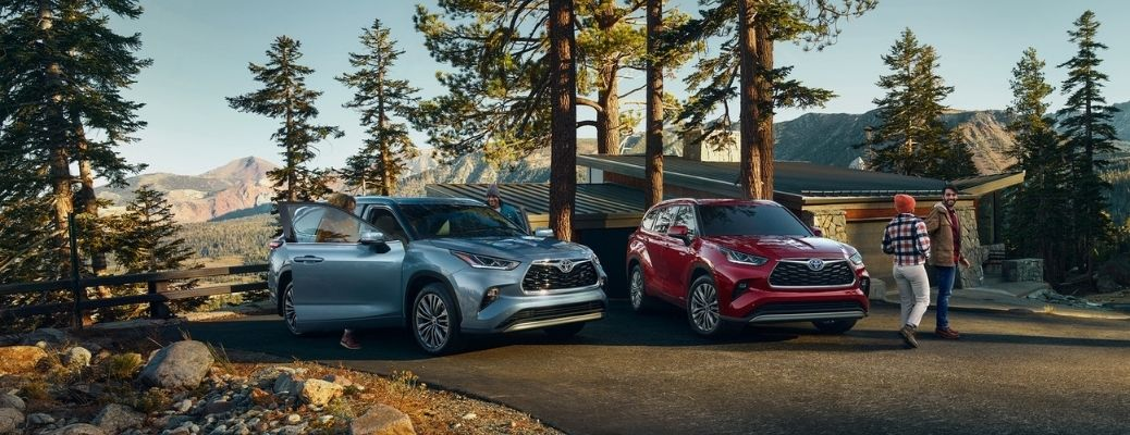 What are the Interior Dimensions of the 2021 Toyota Highlander?