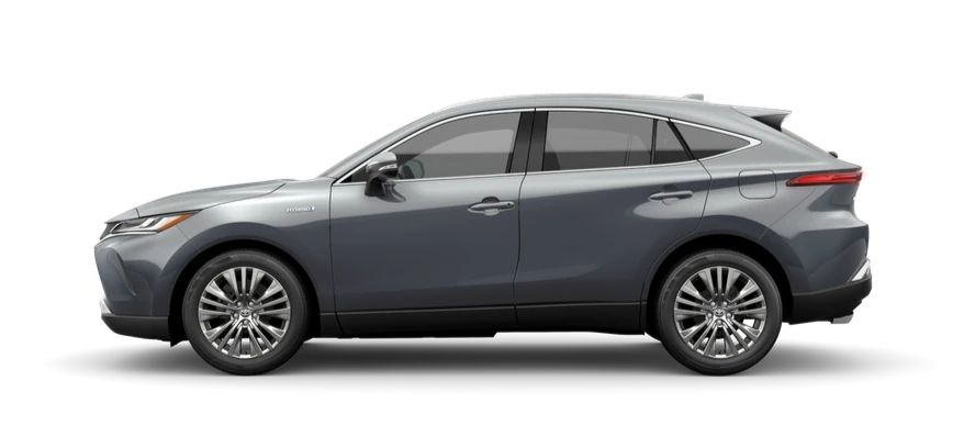 A side view of the 2021 Toyota Venza Limited