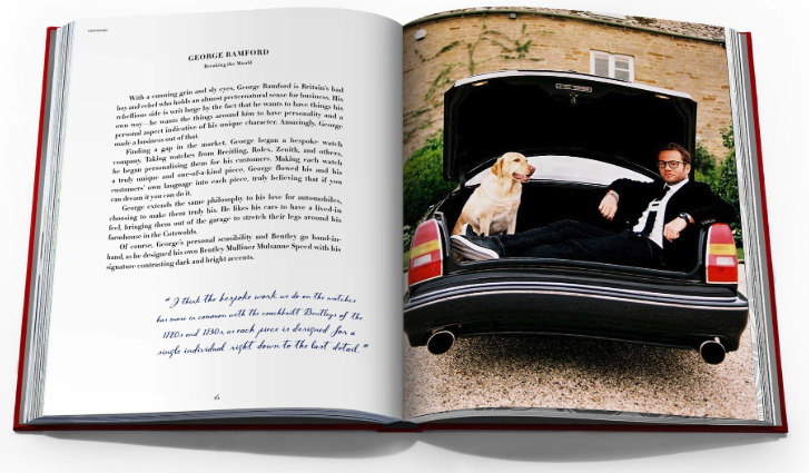 Assouline Book Bentley Houston